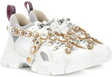 Gucci Flashtrek embellished sneakers