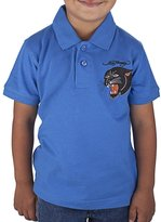 Ed Hardy Little Boys' Panther Polo Shirt - Cobalt - 3/