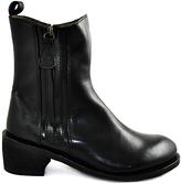 Gee WaWa Black Joan Leather Boot