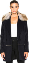 Veronica Beard Antares Fur Coat