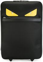 Fendi Faces trolley suit case - men - Leather/Nylon/Polypropylene - One Size