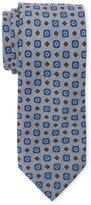 Altea Grey Contrast Pattern Tie