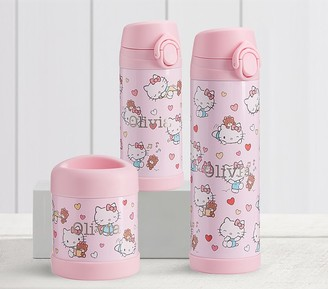 Pottery Barn Kids Hello Kitty Hearts Hot & Cold Container