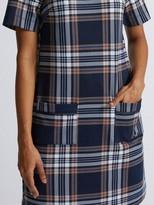 Dorothy Perkins Navy Check Shift Dress