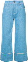 Vionnet cropped wide leg jeans