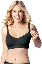 Bravado Designs Body Silk Seamless Nursing Bra - Black -Medium