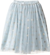 Kardashian Kids Below Knee Mesh Sequin Skirt (Toddler/Little Kids)