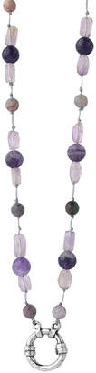 Waxing Poetic Women's Necklaces Purple, - Amethyst & Jasper Higher Ground Intuition Pendant Necklace