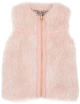 Juicy Couture Girls Reversible Curly Fur Vest