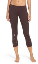 Spiritual Gangster Women's Stars Power Crop Leggings