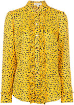 MICHAEL Michael Kors floral print shirt - women - Silk - 4