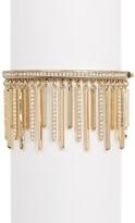 Jenny Packham Pave Crystal Fringe Bracelet