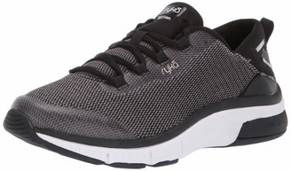 Ryka Women's RYTHMA Walking Shoe Black 8 M US