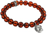 King Baby Studio Buddha Charm 10mm Beaded Bracelet Bracelet
