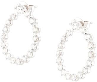 Anita Ko 18kt White Gold Garland Diamond Earrings