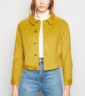 New Look Sunshine Soul Cord Crop Jacket