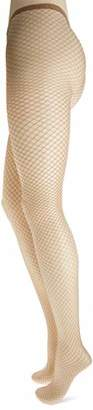 Dim Women's Style Panty Fantasía Rejilla Grande Hold-Up Stockings,(Size: 2)