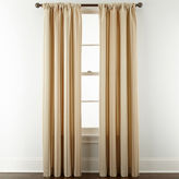 Royal Velvet Lazarro Stripe Rod-Pocket/Back-Tab Curtain Panel