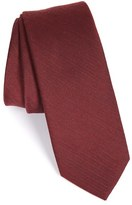 The Tie Bar Men's Solid Wool & Silk Tie