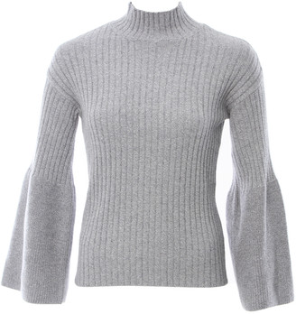 Singer22 Cotton Long Sleeve Mock Neck Sweater