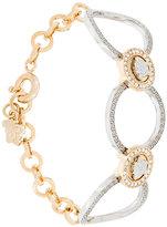 Versace Medusa hoop bracelet