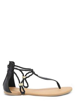 Forever 21 Qupid Gladiator Thong Sandals