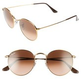 Ray-Ban Women's Icons 50Mm Retro Sunglasses - Blue/ Brown
