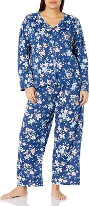 Karen Neuburger Plus Size Soiree Long Sleeve Cardigan Pj