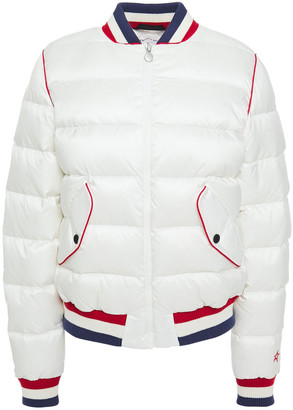Perfect Moment Quilted Shell Down Bomber Jacket
