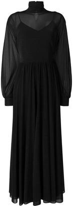 Diane von Furstenberg long turtle neck dress