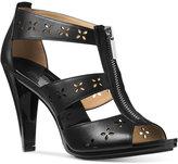 MICHAEL Michael Kors Berkley Floral T-Strap Sandals