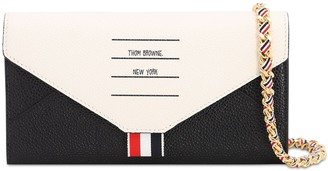 Thom Browne Envelop Leather Chain Wallet