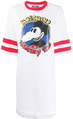 Moschino Mickey Rat T-shirt dress