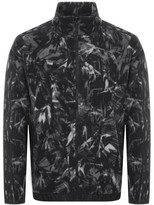 adidas Mens Ripstop Bomber Full Zip Jacket Black//White