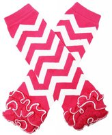 Dress Up Dreams Boutique Chevron Ruffle Leg Warmers