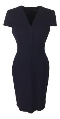 Alexander McQueen Purple Wool Dresses