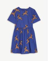 Mini Rodini Donkey print organic cotton dress 4-11 years