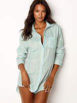 Victoria's Secret Victorias Secret Lightweight Button-front Sleepshirt
