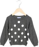 Jacadi Girls' Polka Dot Long Sleeve Sweater w/ Tags