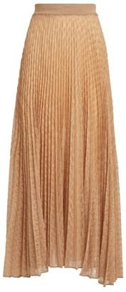 Missoni Metallic Pleated Skirt