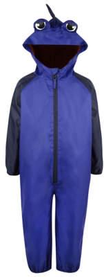 George Blue Shark Print Puddle Suit