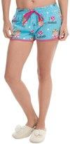 PJ Salvage Flannel Drawstring Shorts (For Women)