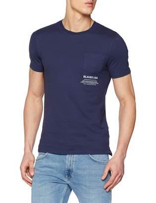 Blauer Men's T-Shirt Manica Corta Blue (BLU INCHIOSTRO 883) M