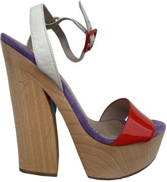 Jean-Michel Cazabat Multicolour Leather Sandals