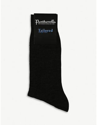 Pantherella Short ribbed wool socks