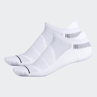 adidas Superlite Prime Mesh 3 Tab No-Show Socks 2 Pairs