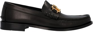 Versace Logo Loafers