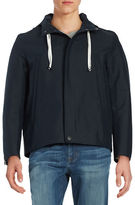 Carlos Campos Hooded Zip-Front Jacket
