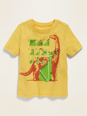 Old Navy Dino-Graphic Crew-Neck Tee for Toddler Boys