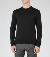 Reiss Mansion Merino Polo Shirt